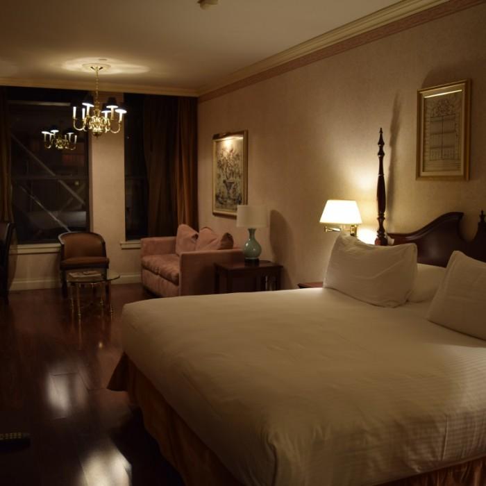 חדר למשפחות - רק שבמקום הספא יש מיטה מלון אוולון ניו יורק