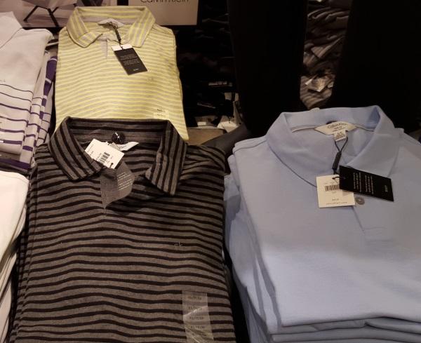 חולצת פולו 30$ קלווין קליין ג'רזי גרדנס