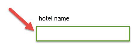 תיבת חיפוש שמאפשרת השוואת מחירים בין מלונות שאתם בוחרים - יש במרבית אתרי ההזמנות