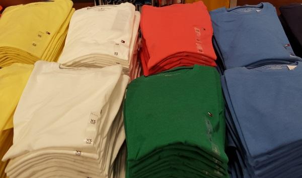 חולצת T 17$ טומי הילפיגר ג'רזי גרדנס