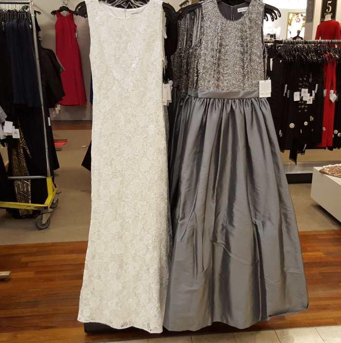 שמלת ערב של קלווין קליין 240$ במייסיס