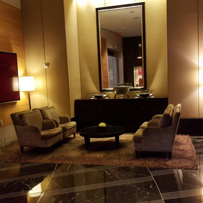 הכניסה מלון מנדרין אוריינטל ניו יורק