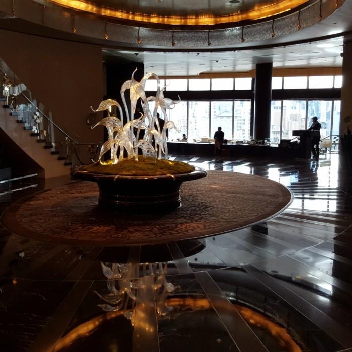 הכניסה הכניסה מלון מנדרין אוריינטל ניו יורק