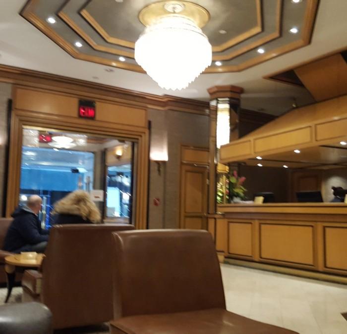לובי מלון מטרו ניו יורק