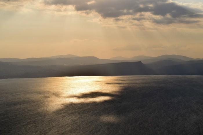 תצפית על הכנרת ממצפה אופיר