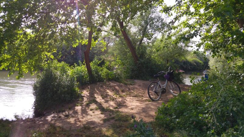 מקום לשבת עם נוף למפגש הנחלים שניר וחרמון