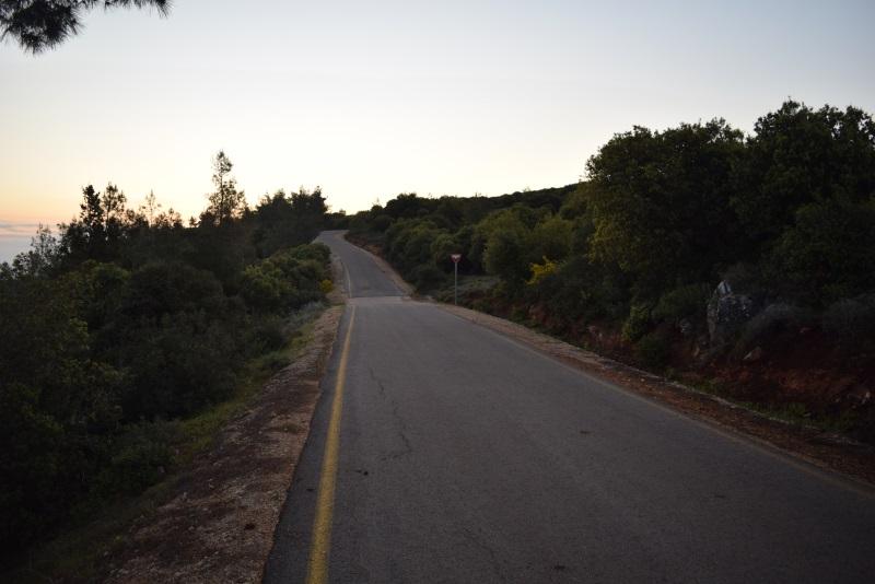 דרך נוף הר תורען