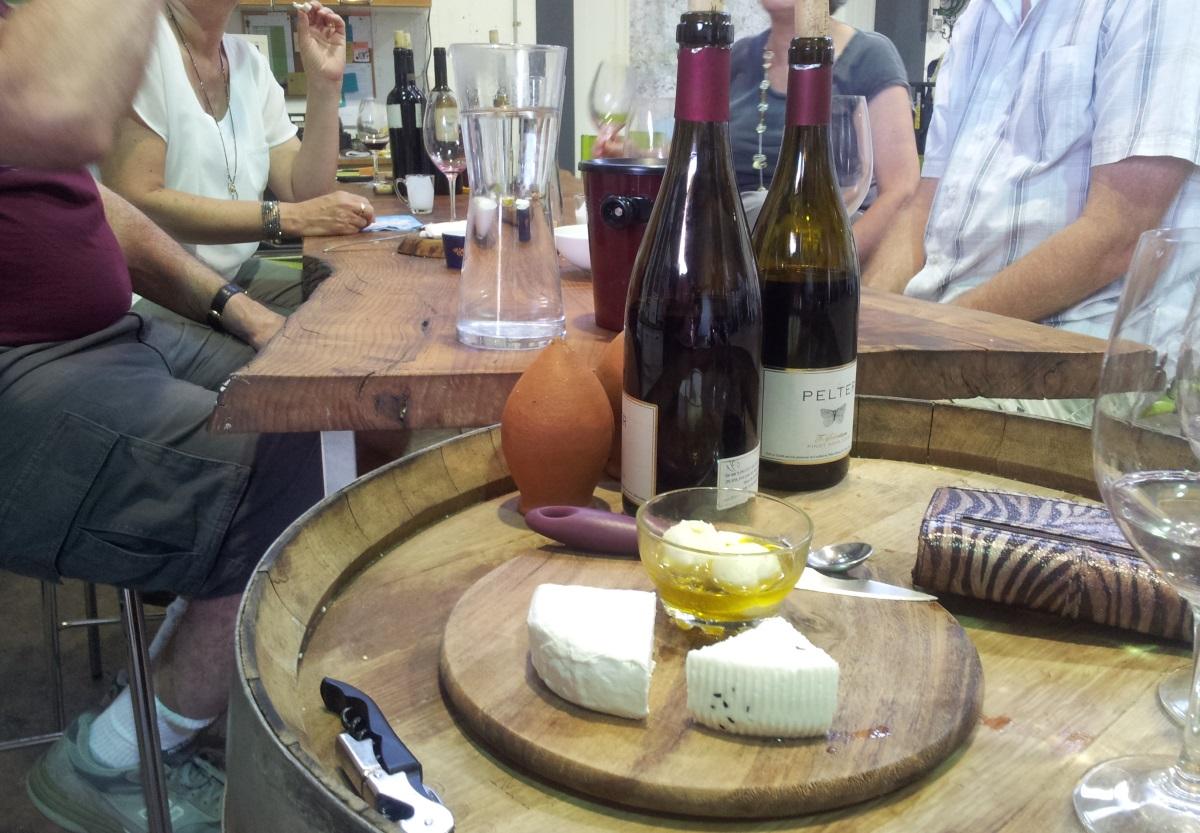 יין וגבינות ביקבי רמת הגולן
