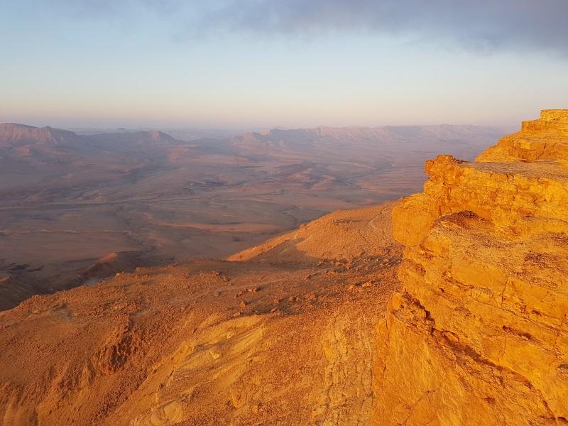 טיילת אלברט באזור של הר גמל