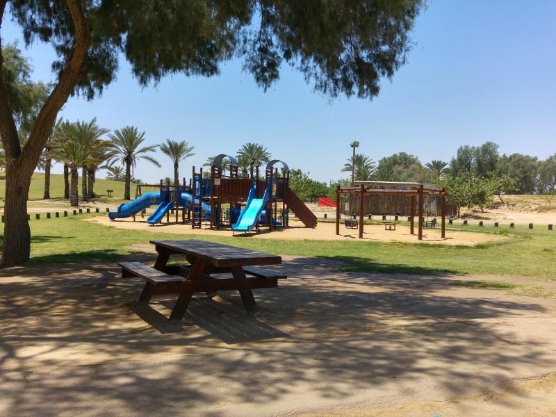 משחקים לילדים פארק הבשור