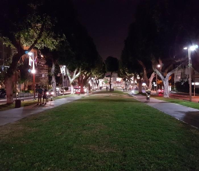 גלקסי 7 צילום בלילה