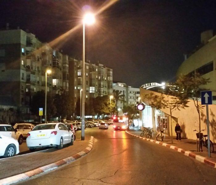 גלקסי 5S רחוב בלילה