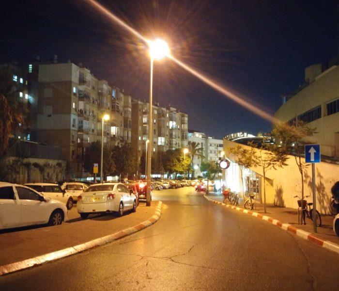 LG G3 רחוב בלילה