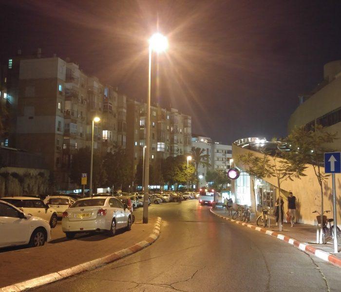 LG G4 רחוב בלילה