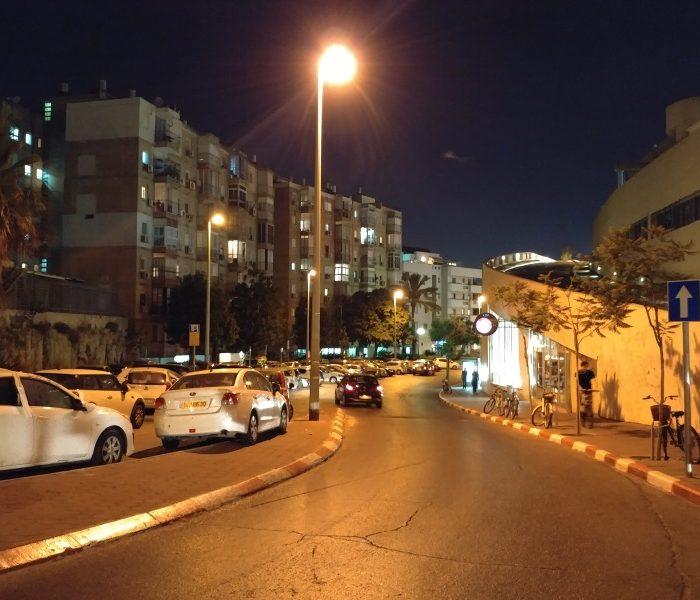 LG G5 רחוב בלילה