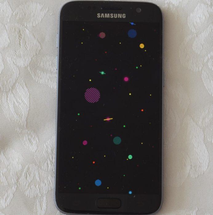 בגלקסי 7 ניתן להציג תמונה במקום מידע
