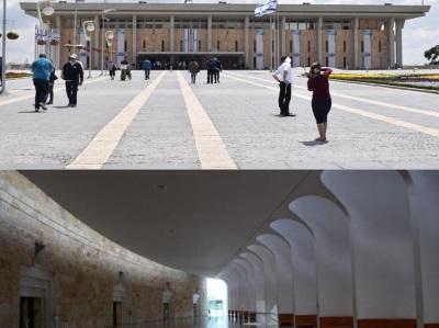 טיול עירוני מהכנסת אל מרכז ירושלים
