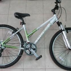 באופניים המשלבות בין עיר להרים המוט המחבר בין הכיסא לכידון בגובה בנוני.