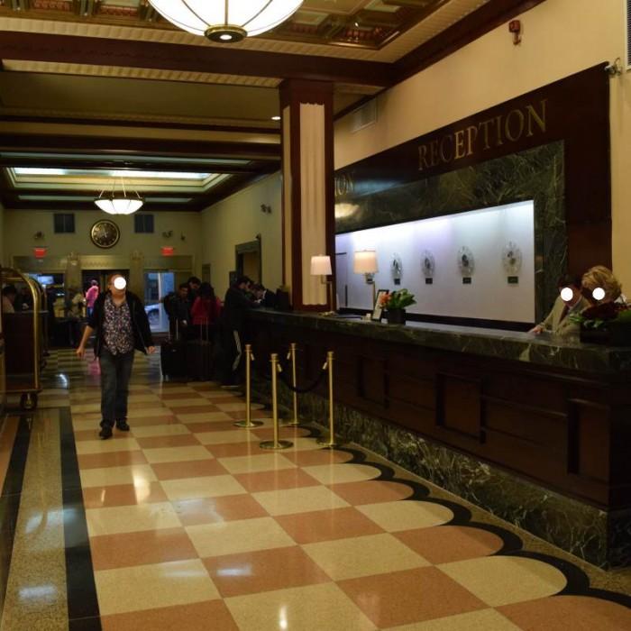 קבלה מלון אדיסון ניו יורק