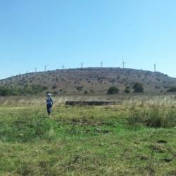טחנות הרוח שמול בריכת הצ'רקסים