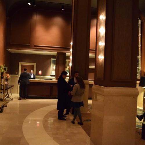 הכניסה למלון דה בנג'מין מנהטן ניו יורק