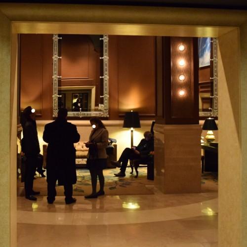 הלובי של מלון דה בנג'מין מנהטן ניו יורק