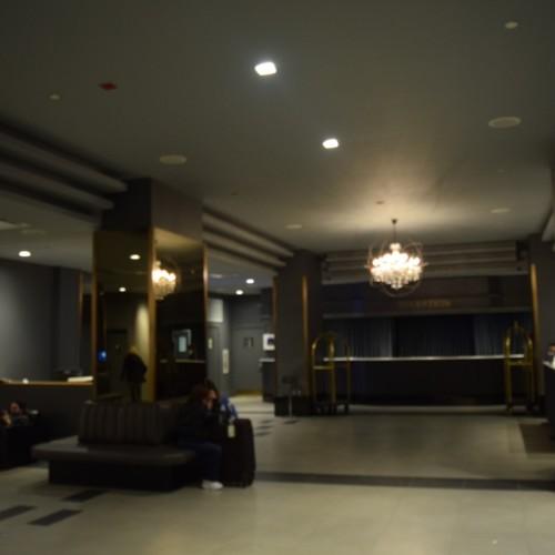 לובי וקבלה במלון מנהטן בטיימס סקוור