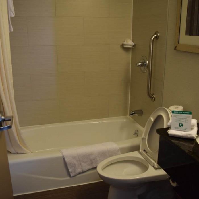 חדר האמבטיה מלון קומפורט אין מידטאון ווסט ניו יורק