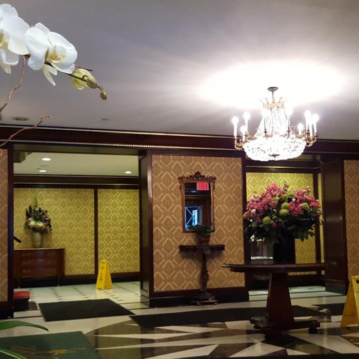 הכניסה מלון אליזה ניו יורק