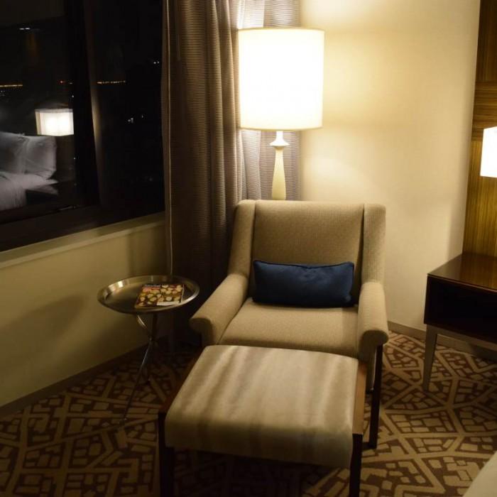 כורסא מלון הילטון טיימס סקוור ניו יורק