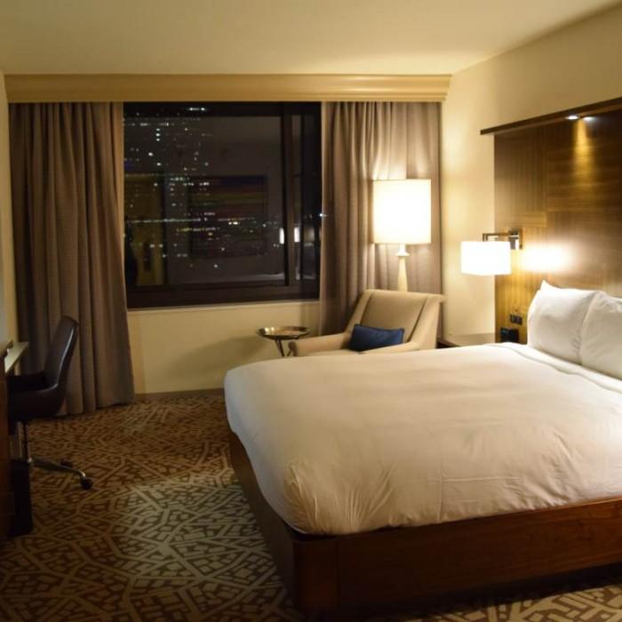החדר מלון הילטון טיימס סקוור ניו יורק