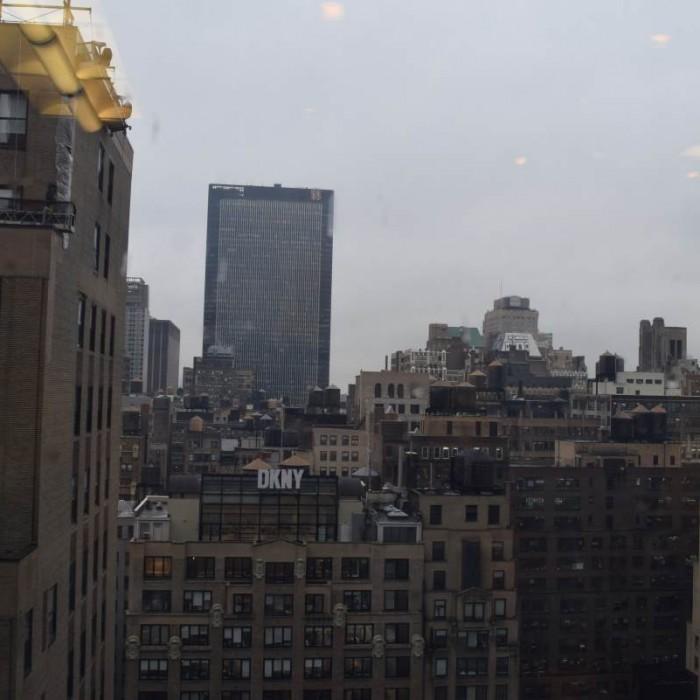 הנוף מהחדר ביום מלון הילטון טיימס סקוור ניו יורק