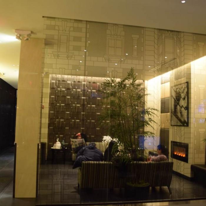 הלובי מלון לה קווינטה ניו יורק