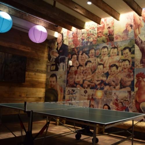 שולחן פינג פונג מלון פוד 39 ניו יורק