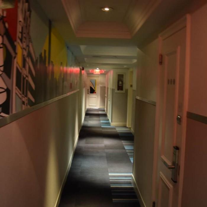 מסדרות בקומת החדרים מלון פוד 51 ניו יורק