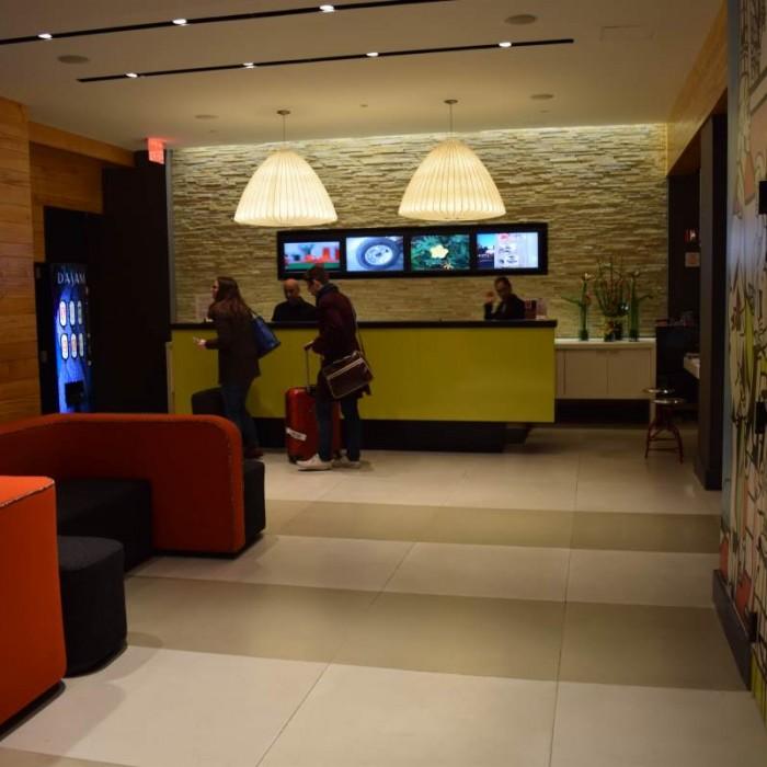 הקבלה מלון פוד 51 ניו יורק