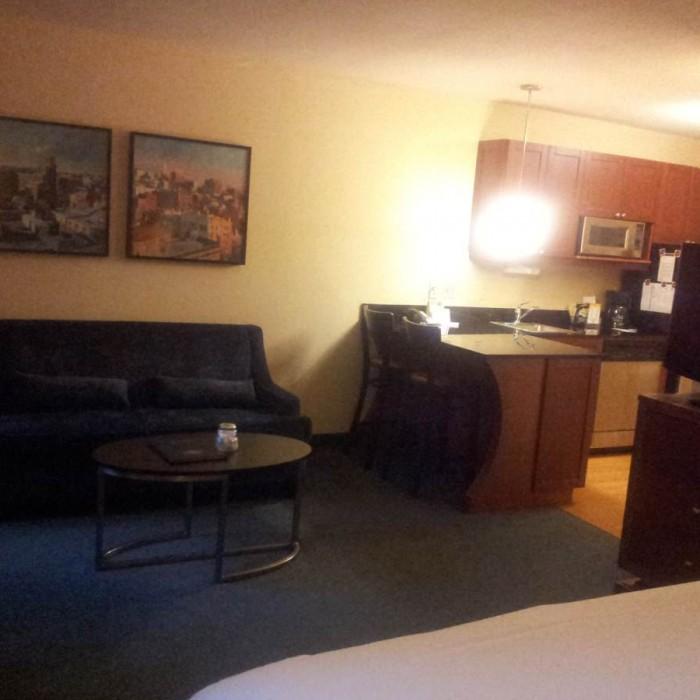 מהמיטה החוצה מלון רזידנס אין טיימס סקוור