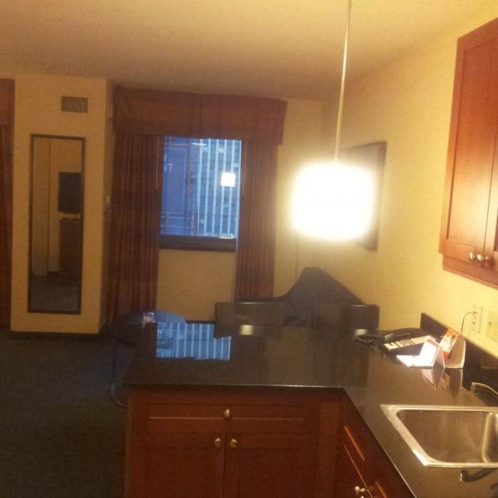 המטבחון מלון רזידנס אין טיימס סקוור