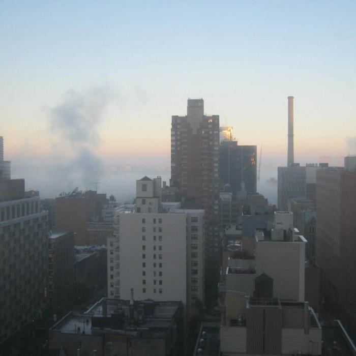 הנוף מהחדר מלון האדסון ניו יורק