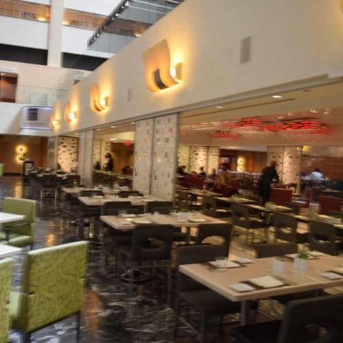 חדר ארוחת הבוקר מלון מריוט מרקיז ניו יורק