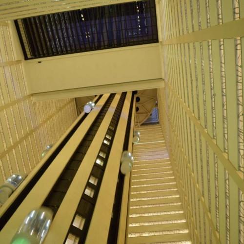 המעליות - חדר בקומה 25 ומעלה ונסיעה במעליות הכרחיות על מנת שתבינו באיזו תחנת חלל אתם נמצאים מלון מריוט מרקיז ניו יורק