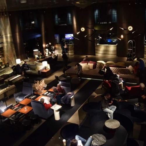 הלובי היפיפה של המלון מלון פרמונט ניו יורק
