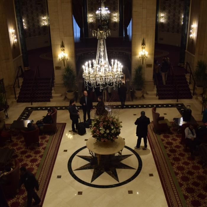 הלובי והכניסה מלון רוזוולט ניו יורק