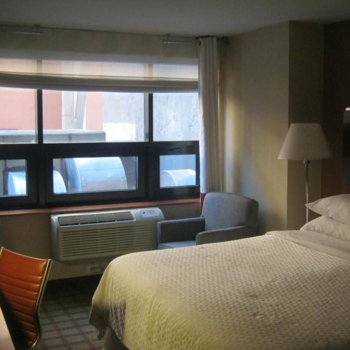 החדר מלון שרתון פור פויינטס טימס סקוור ניו יורק