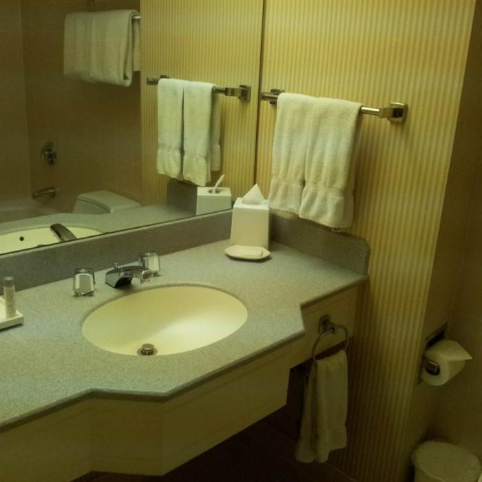 חדר האמבטיה מלון The Manhattan at Times Square Hotel