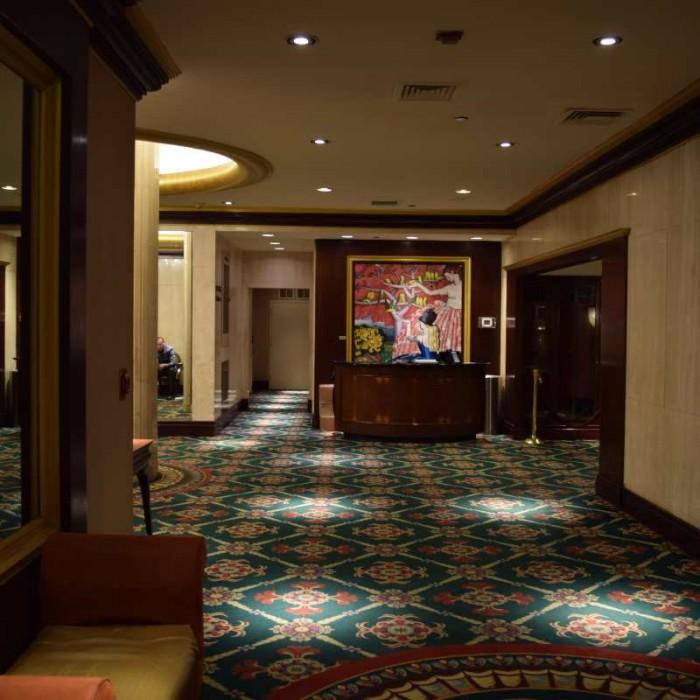 הכניסה למלון מלון וולינגטון ניו יורק