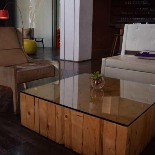 פינת ישיבה בלובי במלון הייאט יוניון סקוור Hyatt Union Square