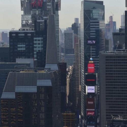 הנוף לטיימס סקוור מקומה 59 מלון רזידנס אין סנטרל פארק ניו יורק
