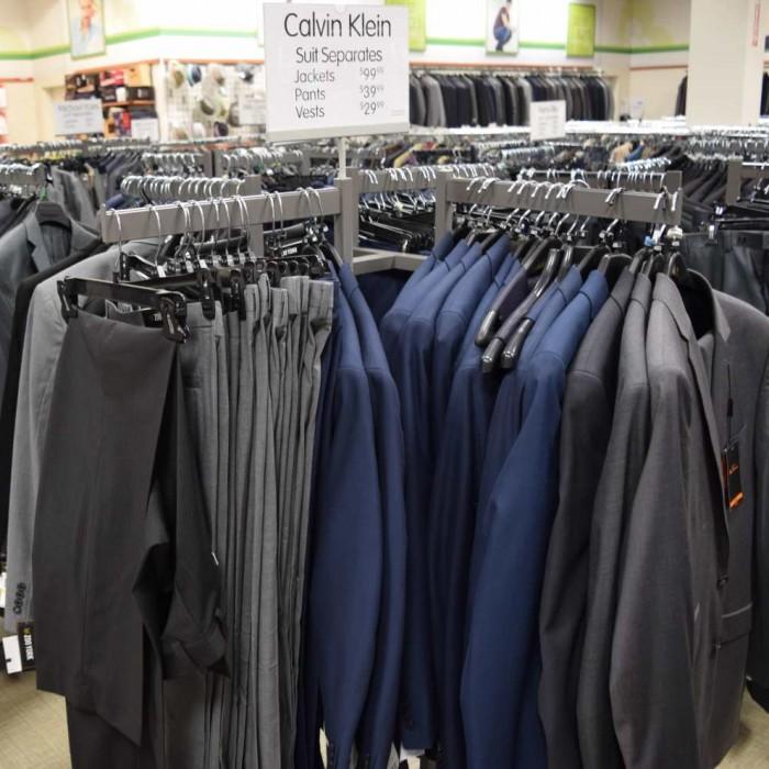חליפה 100$, מכנס 40$ ברלינגטון קןאוט פקטורי ג'רזי גרדנס גברים