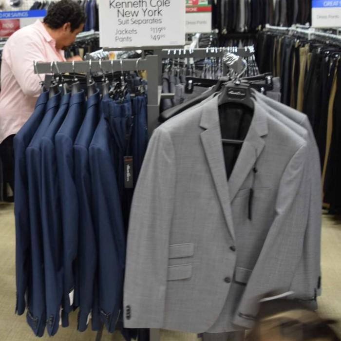 חליפה 120$, מכנס 50$ ברלינגטון קןאוט פקטורי ג'רזי גרדנס גברים